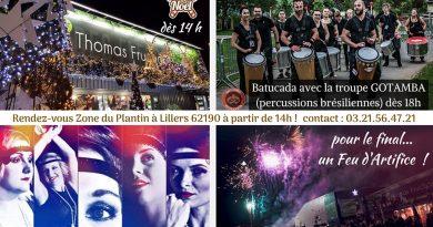 Lillers : Des Fleurs Thomas Fruchart présente les Illuminations de Noël, samedi 30 novembre