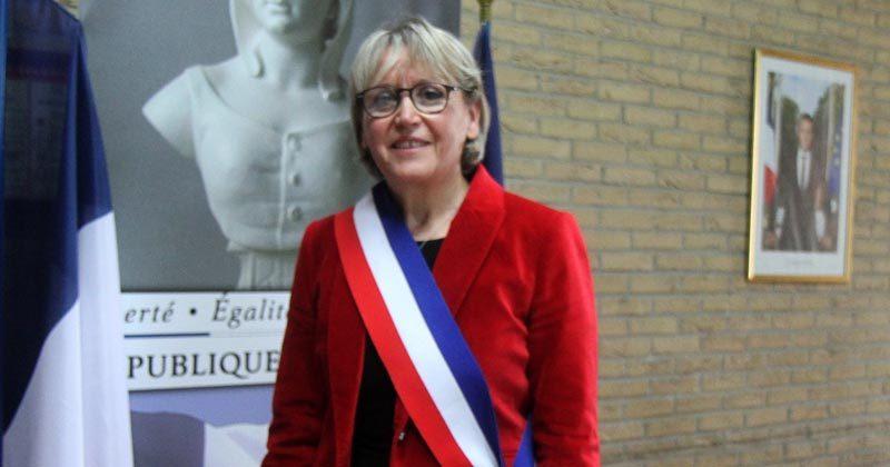 Carole Dubois, fille de Burbure, maire de Lillers