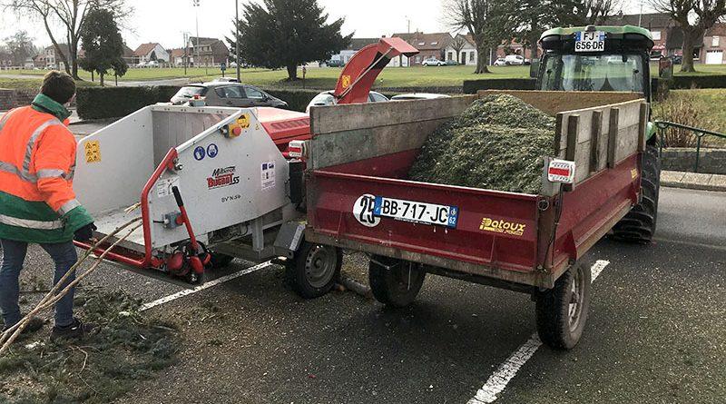 Broyeur à végétaux pour les habitants