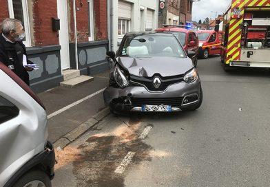 Burbure : deux blessés légers rue de Lillers